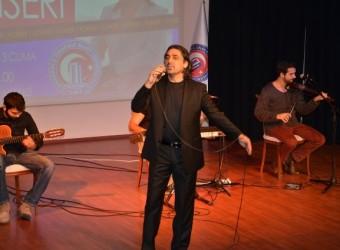 Eşref Ziya ÇOMÜ'de Konser Verdi (+ VİDEO)