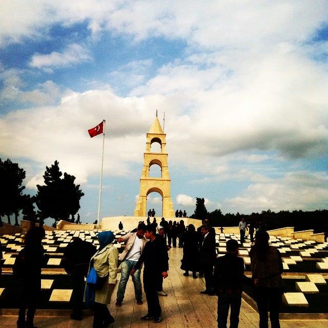 57.Alay Çanakkale Şehitlikleri